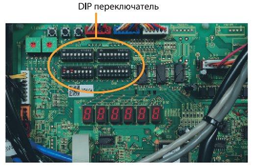 Рис. 1. Индикаторы работы VRF системы кондиционирования серии КХ6 Mitsubishi Heavy Industries.
